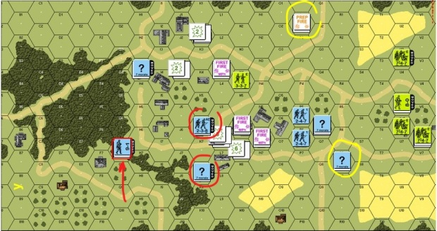 Turn 3 German Movement Phase
