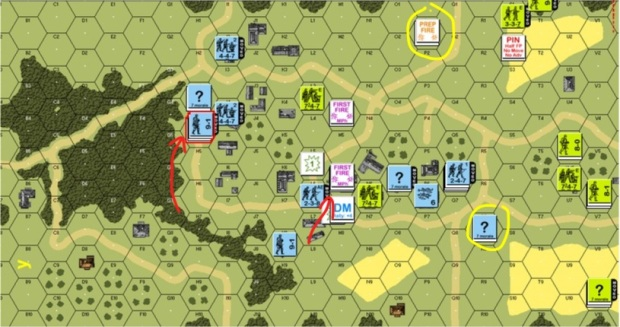Turn 4 German Movement Phase