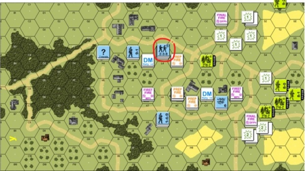 Turn 5 American Movement Phase