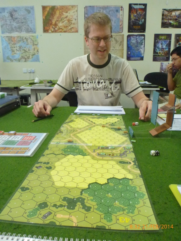 My first opponent Maik Brinkmann