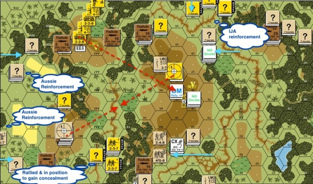 J116 - T3 IJA - Blocking on right Shoot Brits off Hill top Reinforcement entered 02-proc