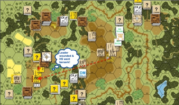 J116 - T5 Bri - Mortars fight Leader wounded berserk-proc