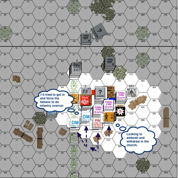 G38 - RT06 - Russians rushed the building. Ldr OVR look for ambush-proc