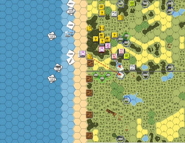 A55 PT6 Using FLs to stop the P from retreating-proc