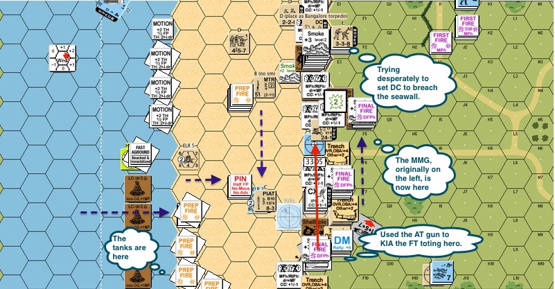 A079 - 05 Brit - Try to set DC to blow the seawall, hero with FT shot-proc