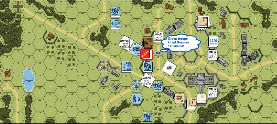 Turn 4 Bri 03 - G folks killed Ger 1st line-proc