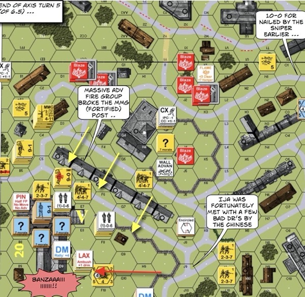 145 Shanghai in Flames Advanced Squad Leader ASL AAR