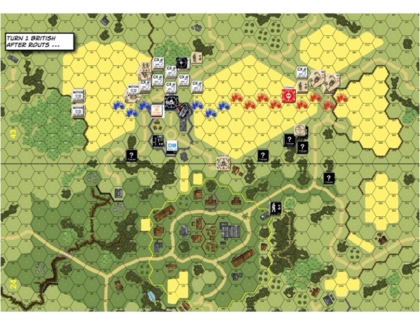 Advanced Squad Leader scenario AAR AP137 Fear Naught