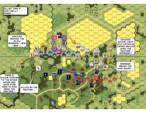 Advanced Squad Leader scenario AP137 Fear Naught