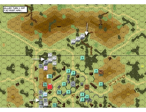 Advanced Squad Leader scenario FT226 Veni Venezia! (AAR)