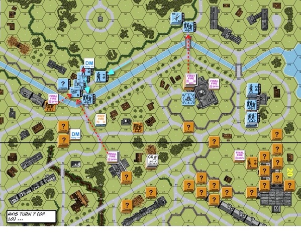 Advanced Squad Leader scenario 3 The Czerniakow Bridgehead