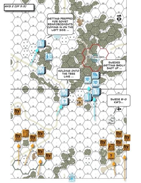 Advanced Squad Leader scenario FrF3 The Swedish Voluntary Corps (AAR)