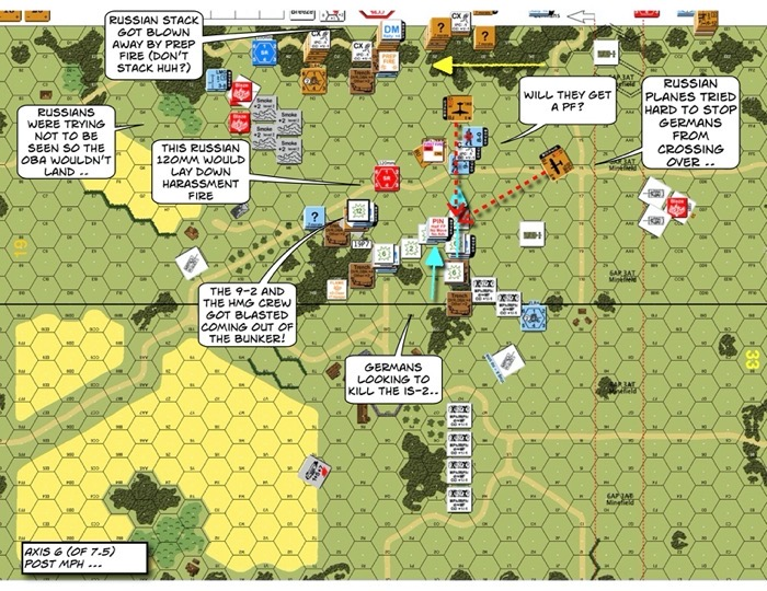 Advanced Squad Leader scenario RbF1-1 Weather the Sturm After Action Report 03