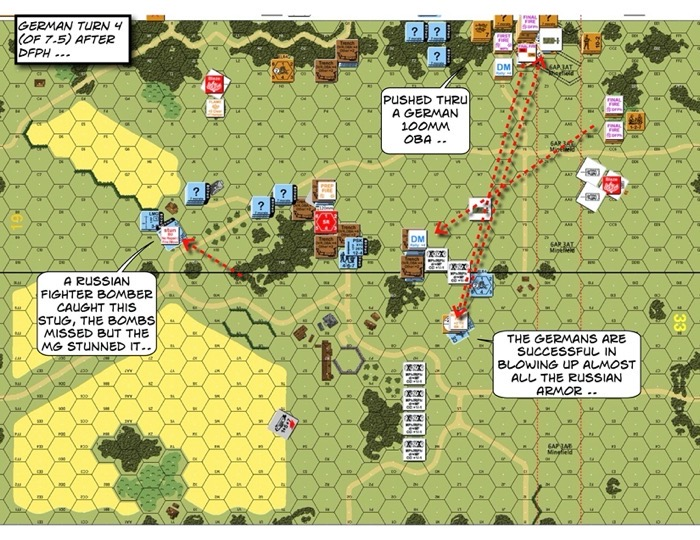 Advanced Squad Leader scenario RbF1-1 Weather the Sturm After Action Report (AAR) German 4