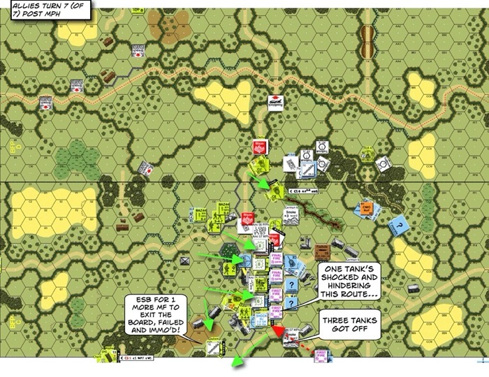 Advanced Squad Leader scenario BFP20 Bypass Lehr (AAR)