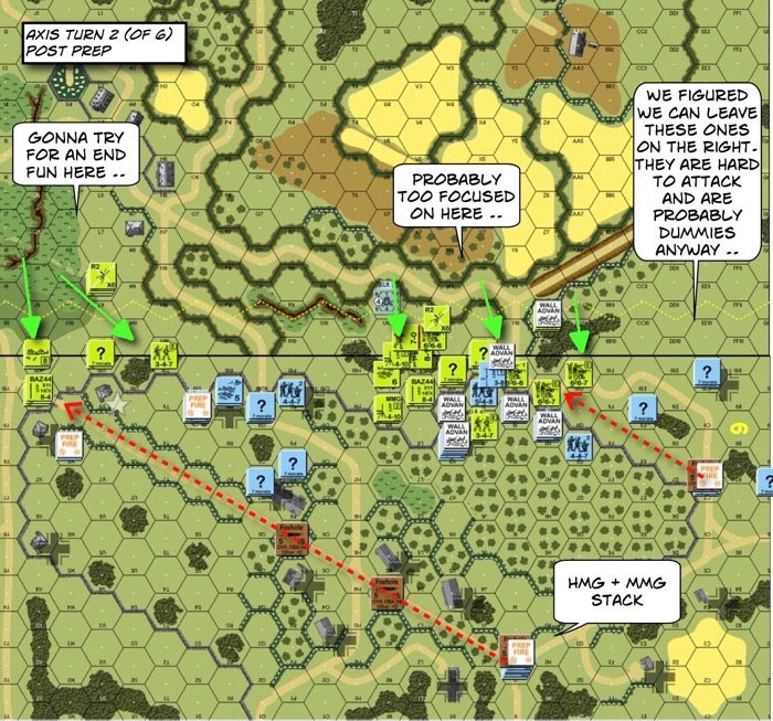 Advanced Squad Leader scenario BFP20 Bypassed Lehr After Action Report (AAR)