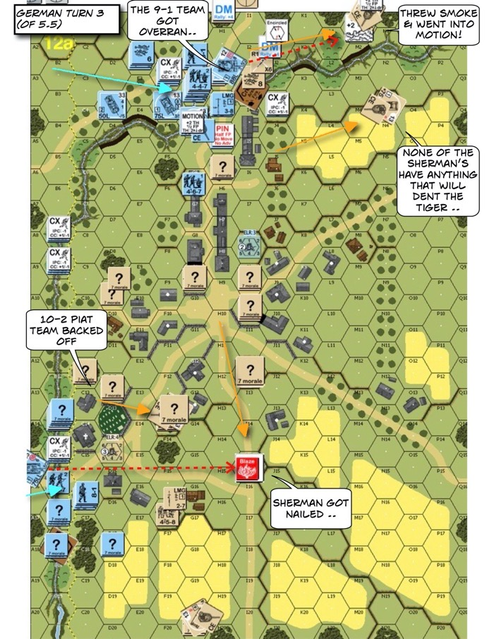 Advanced Squad Leader AP142 The Closer After Action Report (AAR)