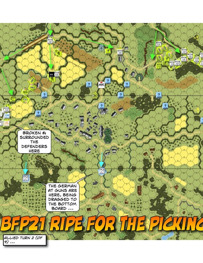 Advanced Squad Leader BFP21 Ripe for the Picking After Action Report (AAR)