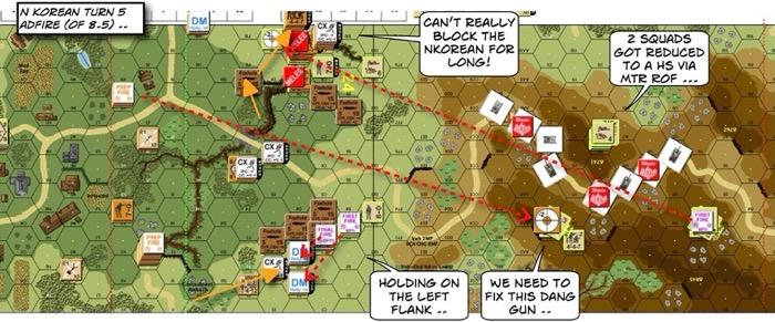 Advanced Squad Leader scenario 204 Human Bullets After Action Report