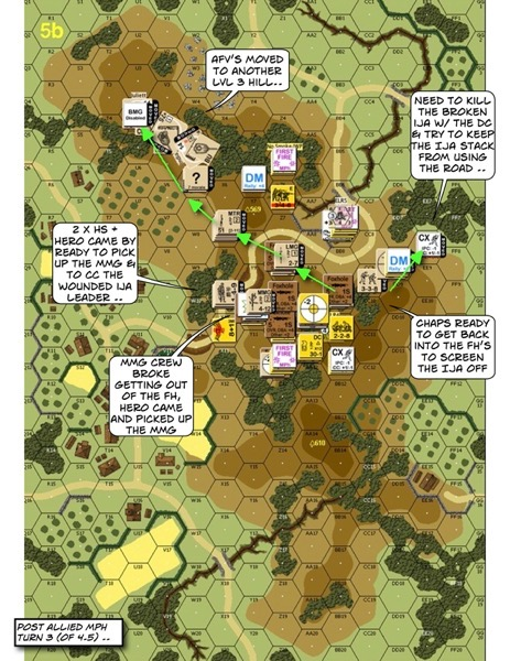 Advanced Squad Leader scenario DB131 Thorn in the Side (AAR)