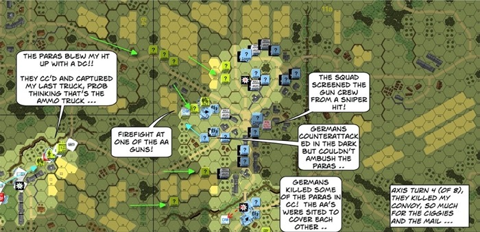 Advanced Squad Leader Scenario AP132 Night of Nights After Action Report (AAR)