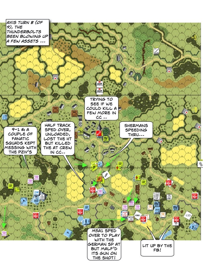 Advanced Squad Leader scenario BFP21 Ripe for the Picking After Action Report (AAR)