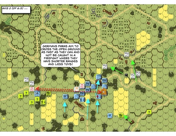 Advanced Squad Leader scenario AP143 Late for Chow After Action Report