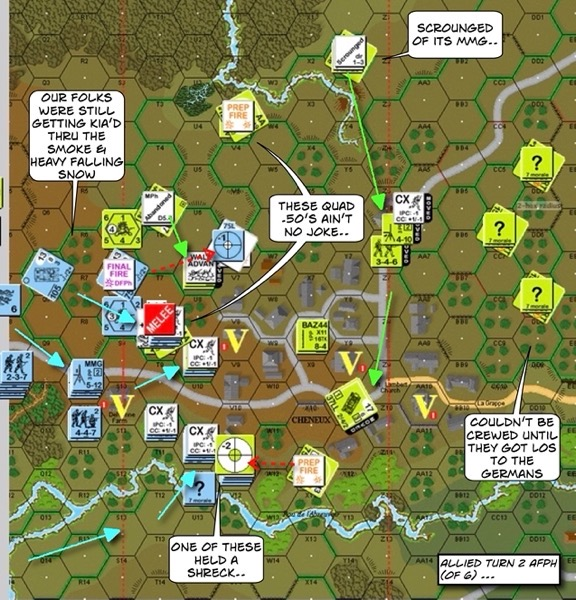 Advanced Squad Leader scenario RbF I-3 South Park