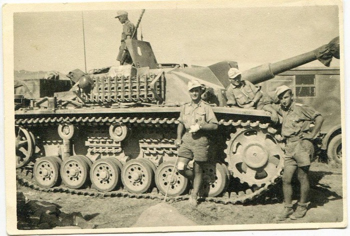 StuH 42 from 242 StuG Abt