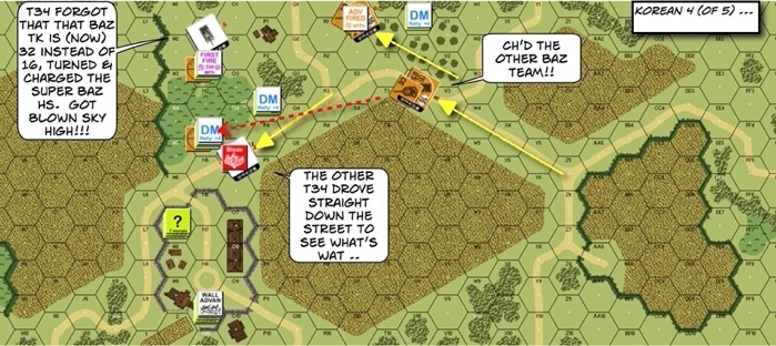 205 Super Bazooka After Action Report (AAR) Advanced Squad Leader scenario