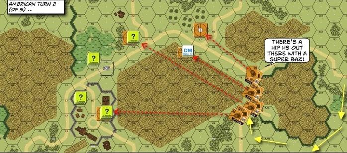 205 Super Bazooka After Action Report (AAR) Advanced Squad Leader scenario