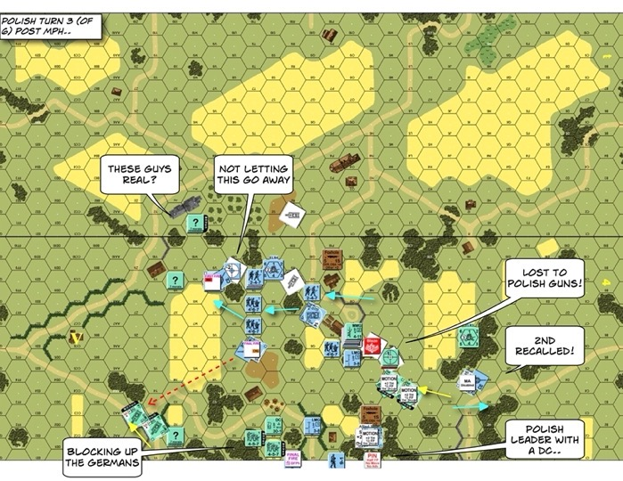 Advanced Squad Leader BoF2 Polish Requiem After Action Report (AAR)