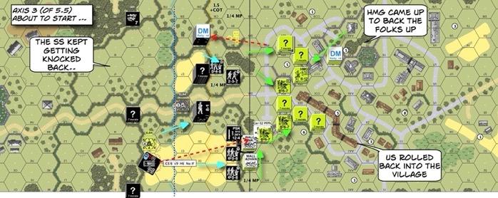 BFP23 Prelim to Death Night After Action Report (AAR) Advanced Squad Leader scenario