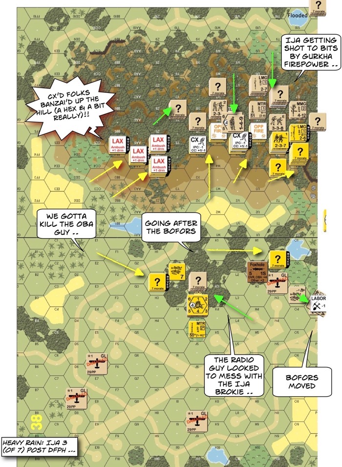 CH97 Final Crisis at Blackpool After Action Report (AAR) Advanced Squad Leader scenario